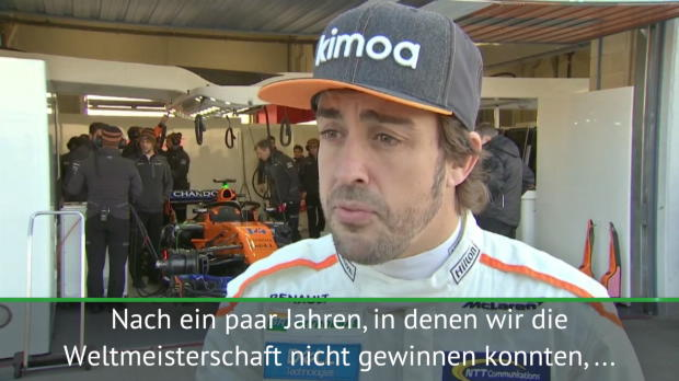 "F1: Alonsos Ziel in Orange: ""Wörtchen mitreden"""