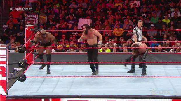 Seth Rollins vs. Bobby Lashley vs. Elias: Raw, July 16, 2018