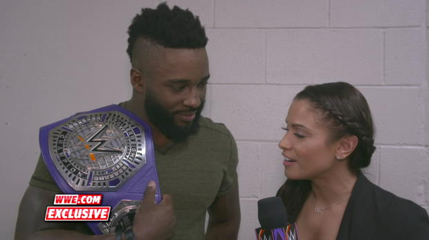 WWE Cruiserweight Champion Cedric Alexander is ready for any challenger: WWE.com Exclusive, July 17, 2018