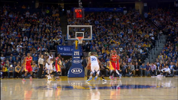 Timeout: Steph Curry