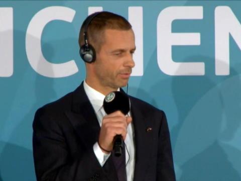 كرة قدم: الإتحاد الاوروبي: سيفيرين يتعهد بجمع أوروبا كلها في يورو 2020