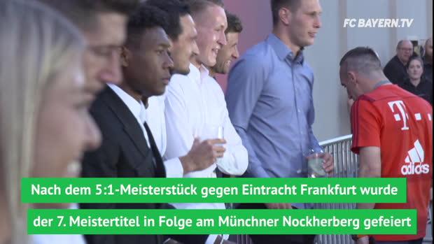Bayerns rauschende Meister-Party am Nockherberg