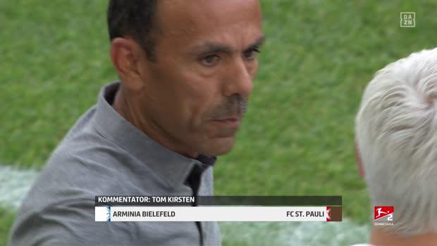 2. Bundesliga: Arminia Bielefeld - FC St.Pauli   DAZN Highlights (CH)