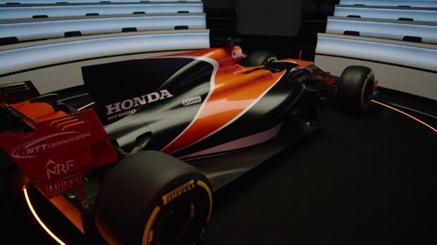 F1 - McLaren presenta el nuevo coche de Fernando Alonso