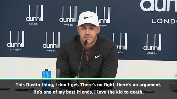 'He's one of my best friends' - Koepka denies Johnson rift