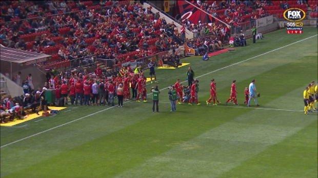 Reds v Wanderers match highlights
