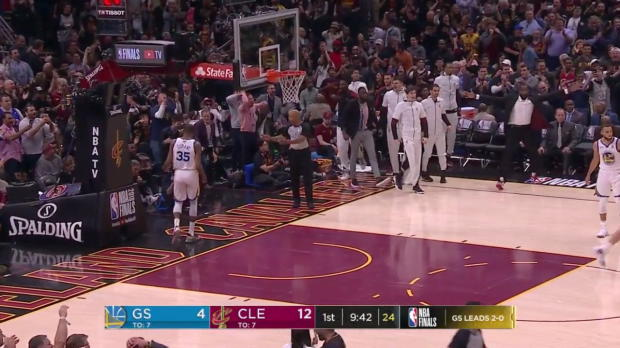 WSC: Kevin Durant, LeBron James Highlights from Cleveland Cavaliers vs. Golden State Warriors