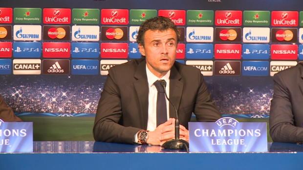 """Foot : LDC - Groupe F : FC Barcelone, Luis Enrique : """"De grosses erreurs"""""""