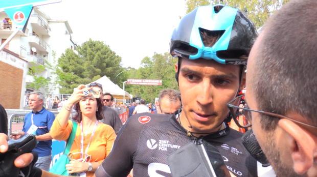 """Giro de Italia - Diego Rosa, sobre la expulsión de Javi Moreno: """"El tema se cerró allí"""""""