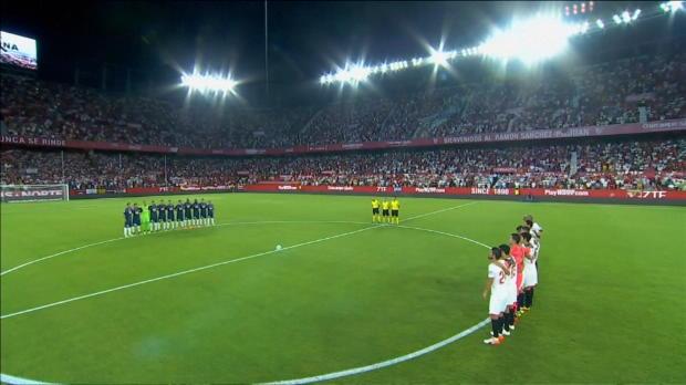 Schweigeminute vor Sevilla gegen Espanyol