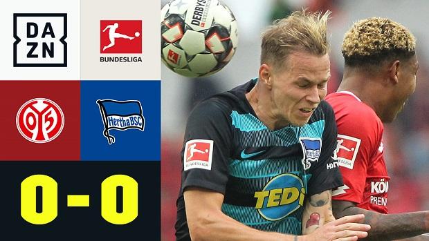 Bundesliga: 1. FSV Mainz 05 - Hertha BSC | DAZN Highlights