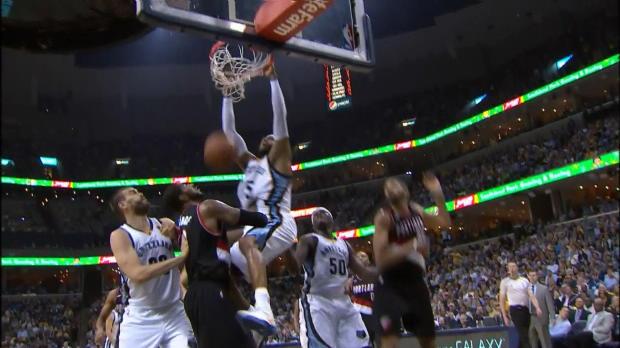 Basket : NBA - Play-offs - Memphis élimine Portland