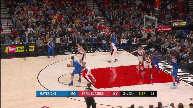 WSC: Dirk Nowitzki (21 points) Highlights vs. Portland Trail Blazers