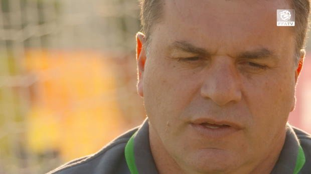 FFA TV | Ange rallies Socceroos fans