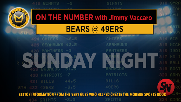 Jimmy V on Bears @ 49ers
