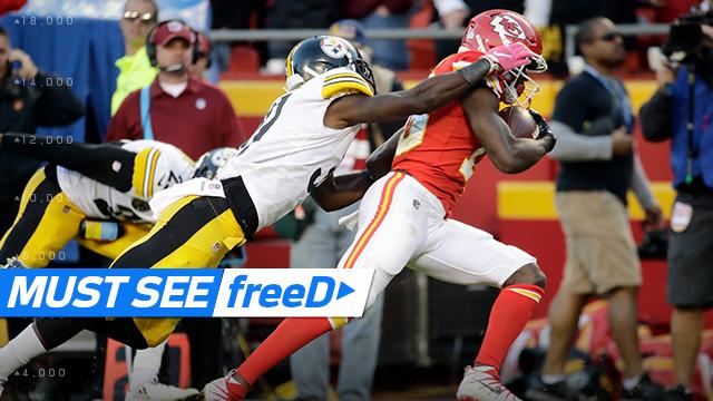 freeD: Go inside Alex Smith's helmet on De'Anthony Thomas TD toss | Week 6