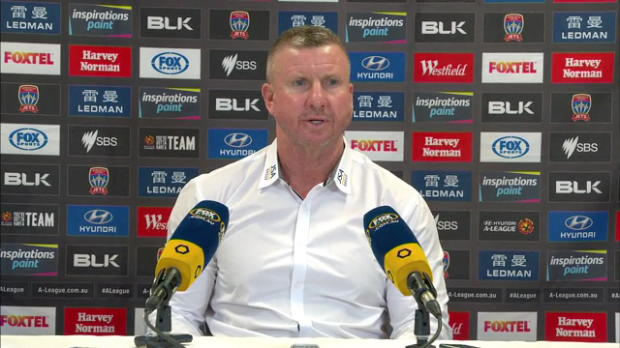 Newcastle Jets Rd19 press conference