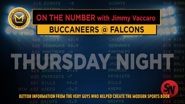 Jimmy V on Bucs @ Falcons
