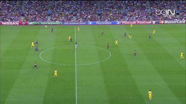 LdC : FC Barcelone 1-0 APOEL Nicosie