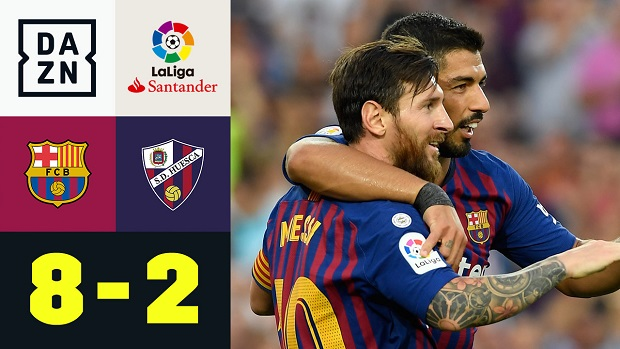 LaLiga: FC Barcelona - Huesca | DAZN Highlights