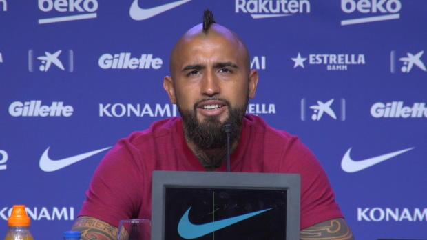 """Vidal: Barcelona """"ist größer"""" als der FC Bayern"""