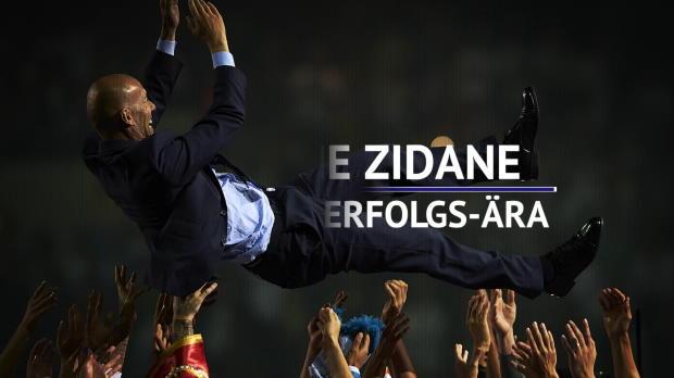 Zidane als Madrid-Coach: Eine reale Erfolgs-Ära