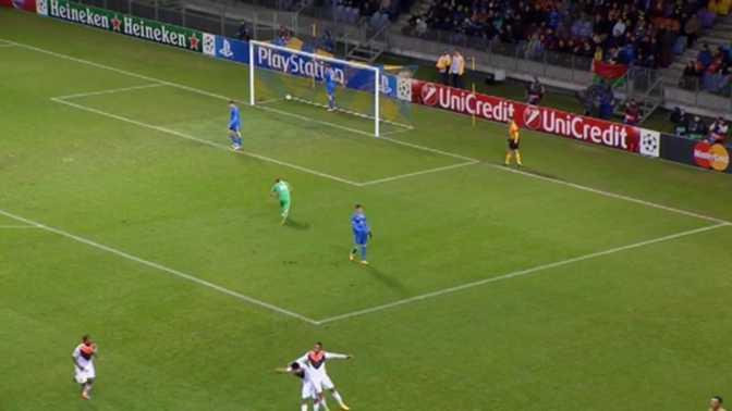 LdC : BATE Borisov 0-7 Shakhtar Donetsk