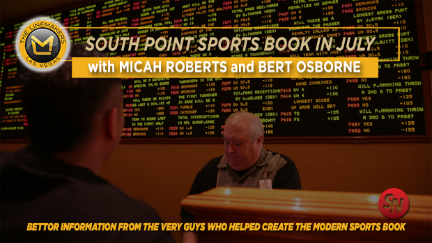 South Point Sports Book in July