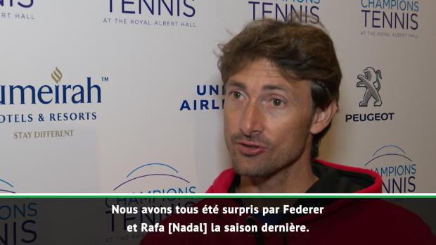 """Basket : Interview - Ferrero - """"Nous avons tous été surpris par Federer et Nadal"""""""