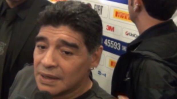 Maradona, encantado con el nuevo Papa