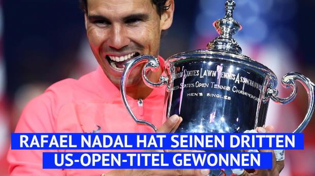 US Open: Nadal gewinnt 16. Grand-Slam-Titel