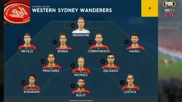 Wanderers v Sydney FC highlights