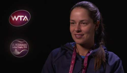 Ivanovic Interview: WTA St Petersburg QF