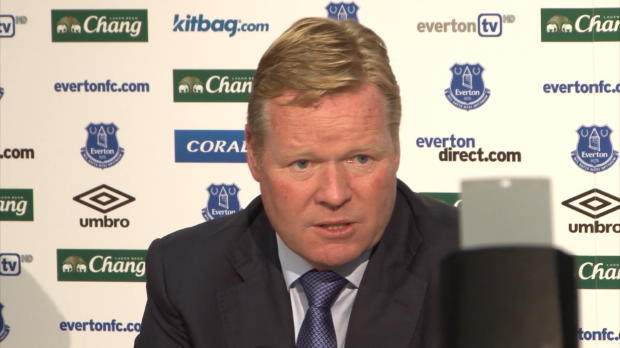 """Everton-Coach Koeman: """"Wollen Lukaku behalten"""""""