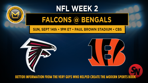 Atlanta Falcons @ Cincinnati Bengals