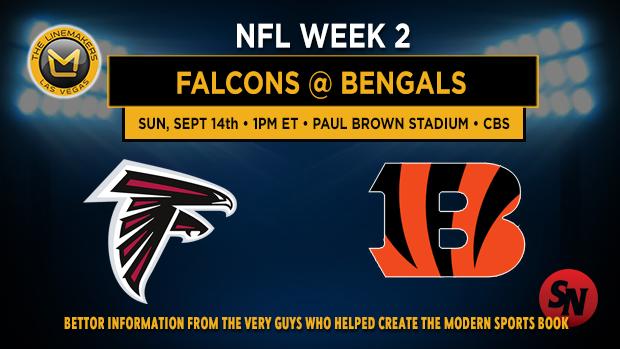 Atlanta Falcons @ Cincinnati Bengals