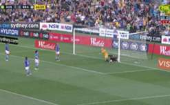Take a look at Sam Kerr's goals and assist in the two-game friendly series against Brazil in Australia.