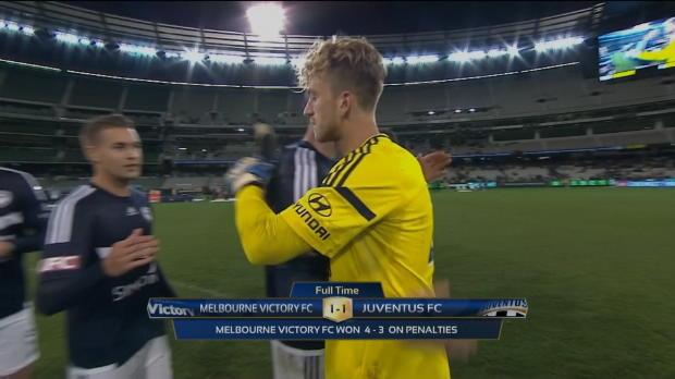 International Champions Cup - La Juve cae en los penaltis ante el Melbourne Victory
