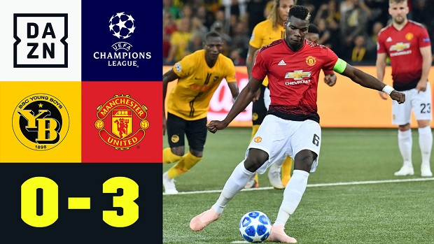 UEFA Champions League: Young Boys - Man United | DAZN Highlights