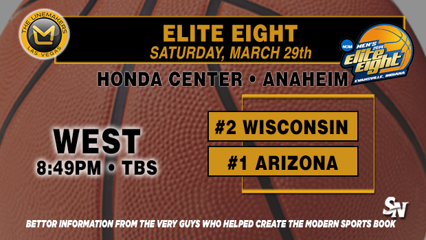 Elite Eight:  Arizona vs. Wisconsin