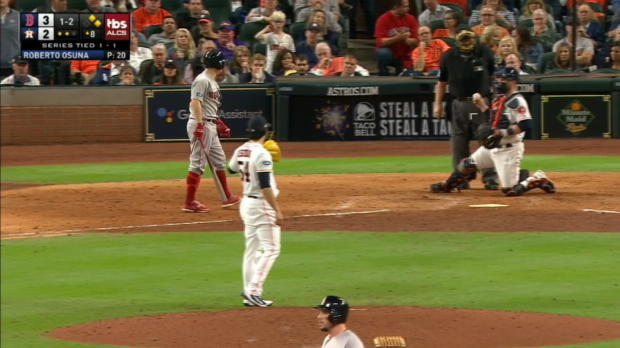 Holt hit by pitch in 8th