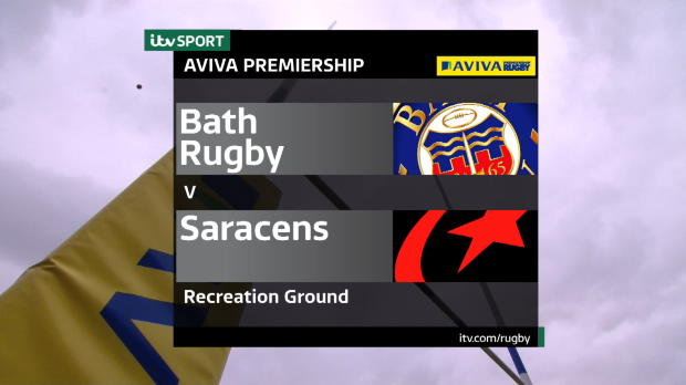 Aviva Premiership - Match Highlight - Bath Rugby v Saracens