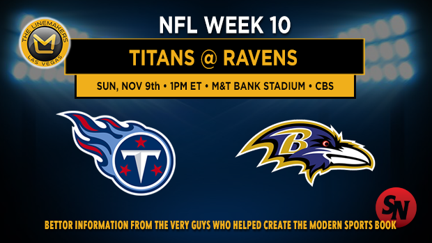 Tennessee Titans @ Baltimore Ravens