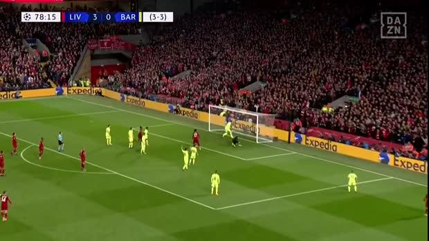 Divock Origi erzielt das 4:0 gegen Barca | Champions League Viral