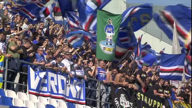 Serie A: Sassuolo - Sampdoria   DAZN Highlights