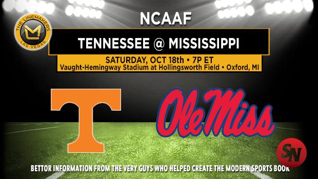Tennessee Volunteers @ Ole Miss Rebels