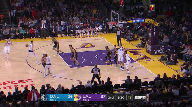WSC: Dirk Nowitzki (11 points) Highlights vs. Los Angeles Lakers
