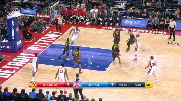 GAME RECAP: Pistons 118, Hawks 95