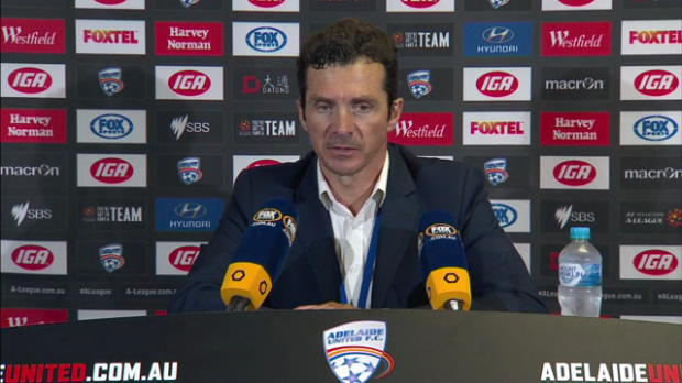 Adelaide United Rd20 press conference