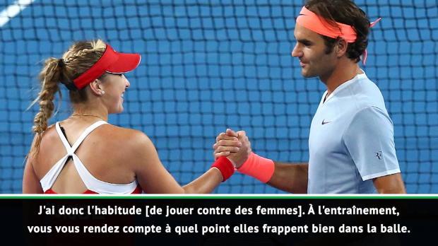Basket : Hopman Cup - Federer curieux et impatient d'affronter Serena Williams